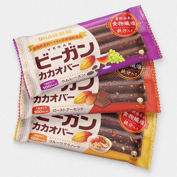 Japanese Vegan Cacao Bars