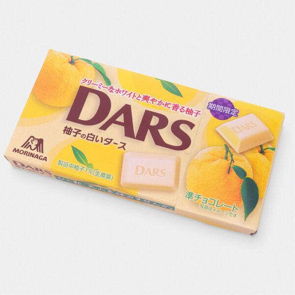 Japanese DARS Yuzu Citrus Chocolate