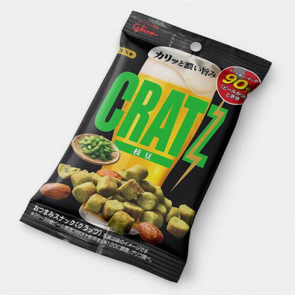Cratz - Edamame Japanese Pretzels