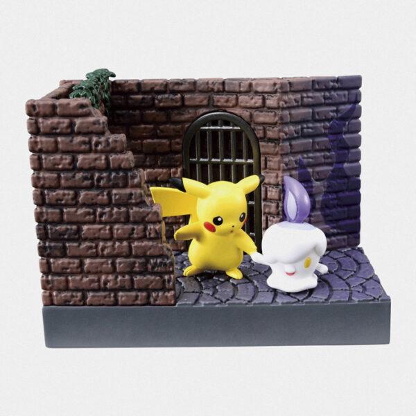 Pokémon City Back Alley at Night Figure