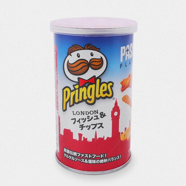 Japanese Pringles London Fish & Chips