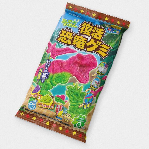 Kracie Resurrection Dinosaur Gummies DIY Candy