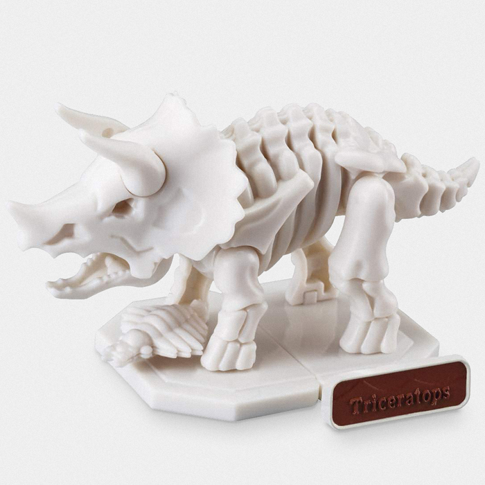 Bandai Triceratops Dinosaur Excavation Model Kit
