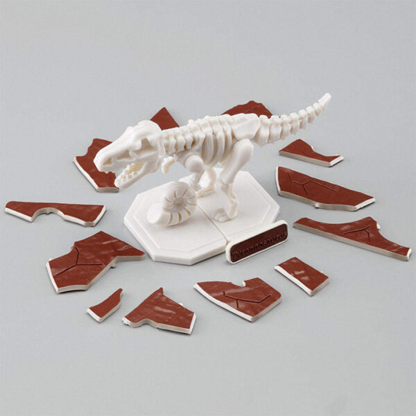 Bandai Tyrannosaurus Dinosaur Excavation Model Kit