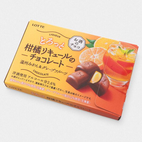 Lotte Citrus Liqueur Chocolate