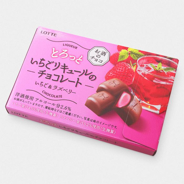 Lotte Strawberry Liqueur Chocolate