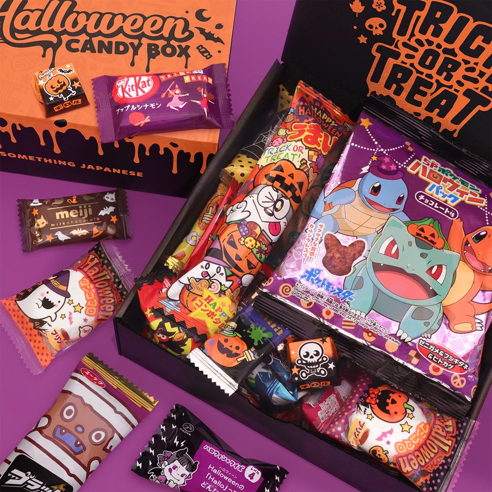 Halloween Japanese Candy Box