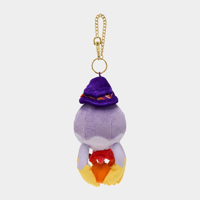 Pokémon Center Halloween 2021 Pumpkin Banquet Drifblim Keychain Plush