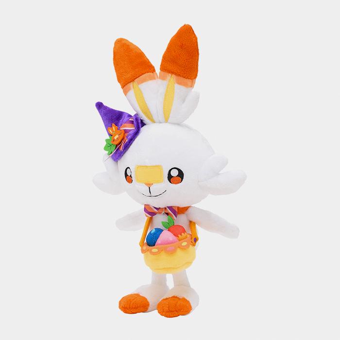 Pokémon Center Halloween 2021 Pumpkin Banquet Scorbunny Plush
