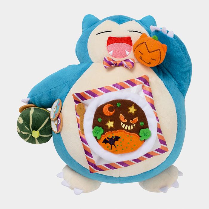 Pokémon Center Halloween 2021 Pumpkin Banquet Snorlax Plush