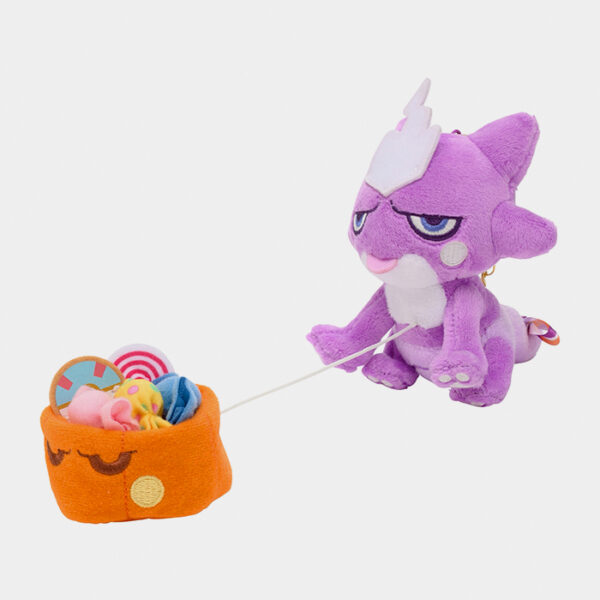 Pokémon Center Halloween 2021 Pumpkin Banquet Toxel Keychain Plush