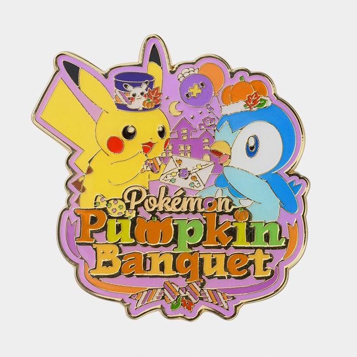 Pokémon Halloween 2021 Pumpkin Banquet Pin