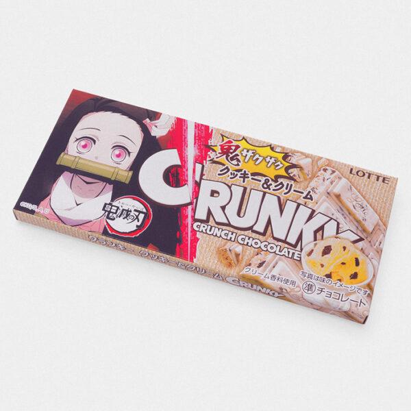 Demon Slayer Crunky Cookies & Cream Chocolate