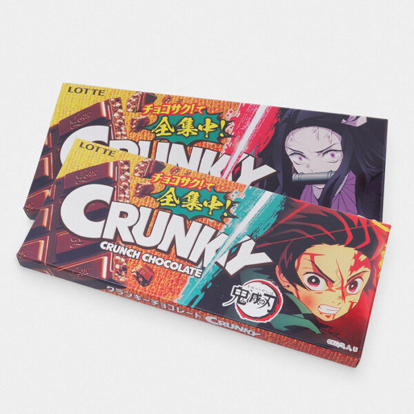 Demon Slayer Crunky Chocolate